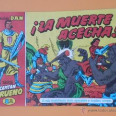 Tebeos: EL CAPITÁN TRUENO. ¡LA MUERTE ACECHA! COLECCIÓN DAN, 23 - VÍCTOR MORA. Lote 46869183