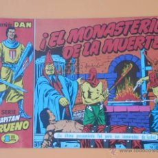 Tebeos: EL CAPITÁN TRUENO. ¡EL MONASTERIO DE LA MUERTE! COLECCIÓN DAN, 27 - VÍCTOR MORA. Lote 46869201
