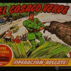 Tebeos: EL COSACO VERDE Nº 19. REEDICION. LITERACOMIC.. Lote 235622115