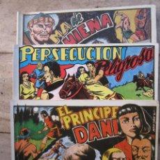 Tebeos: EL PRINCIPE DANI , COLECCION COMPLETA , EN TRES TOMOS , 1989. Lote 47934118