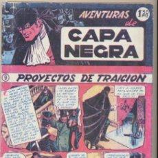 Tebeos: CAPA NEGRA TOMO 2. CONTIENE LAS AVENTURAS DEL 9 AL 17.. Lote 48004304