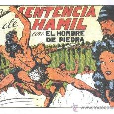 Tebeos: COMIC EDICIÓN FACSIMIL - LA SENTENCIA DE HAMIL - EL HOMBRE DE PIEDRA. Lote 49081655