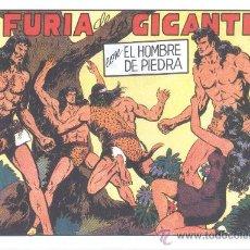 Tebeos: COMIC EDICIÓN FACSIMIL - LA FURIA DE LOS GIGANTES - EL HOMBRE DE PIEDRA. Lote 49081781