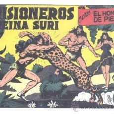 Tebeos: COMIC EDICIÓN FACSIMIL - PRISIONEROS DE LA REINA SURI - EL HOMBRE DE PIEDRA. Lote 49081809