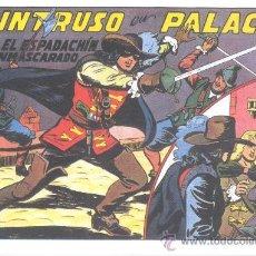 Tebeos: COMIC EDICIÓN FACSIMIL - EL INTRUSO EN PALACIO - EL ESPADACHIN ENMASCARADO. Lote 49081945