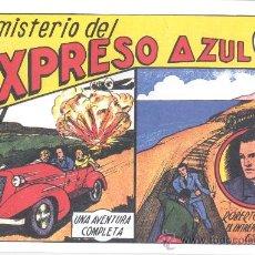 Tebeos: COMIC EDICIÓN FACSIMIL - EL MISTERIO DEL EXPRESO AZUL -ROBERTO ALCAZAR. Lote 49082033