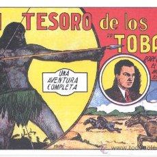 Tebeos: COMIC EDICIÓN FACSIMIL - EL TESORO DE LOS TOBAS -ROBERTO ALCAZAR. Lote 49082057