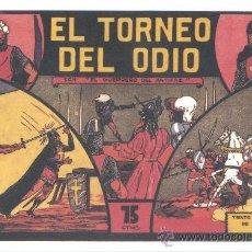 Tebeos: COMIC EDICIÓN FACSIMIL - EL TORNEO DEL ODIO-EL GUERRERO DEL ANTIFAZ. Lote 49084079