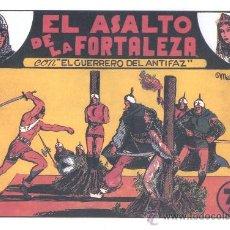 Tebeos: COMIC EDICIÓN FACSIMIL - EL ASALTO DE LA FORTALEZA-EL GUERRERO DEL ANTIFAZ. Lote 49084091