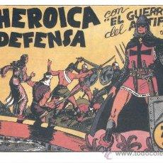 Tebeos: COMIC EDICIÓN FACSIMIL - HEROICA DEFENSA-EL GUERRERO DEL ANTIFAZ. Lote 49084100