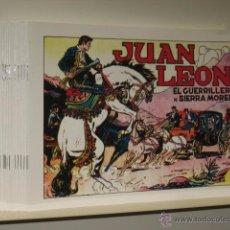 Tebeos: JUAN LEON COMPLETA 16 NUMS. TORAY - REEDICION OFERTA (ANTES 50,00 €). Lote 194382062