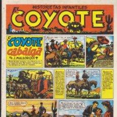 Tebeos: EL COYOTE 2 TOMOS CON 75 NºS MAS ALMANAQUES 1948-1949-1950-1951 REEDICION. Lote 49887825