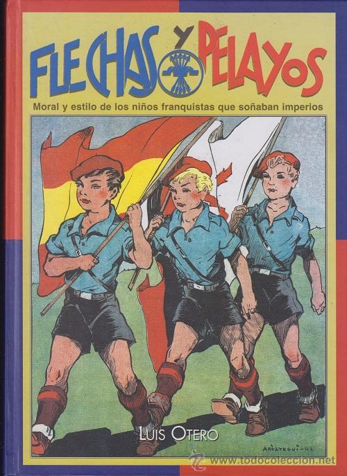 LIBRO FLECHAS Y PELAYOS - LUIS OTERO - EDAF (Tebeos y Comics - Tebeos Reediciones)