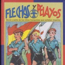 Tebeos: LIBRO FLECHAS Y PELAYOS - LUIS OTERO - EDAF. Lote 51109349