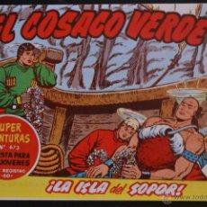 Tebeos: EL COSACO VERDE, Nº 132. REEDICION. LITERACOMIC.. Lote 235622185