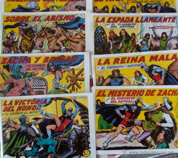 Tebeos: Lote Comic El guerrero del antifaz Edito Valenciana reedicion NUEVOS - Foto 2 - 53084041