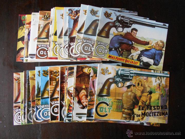 MENDOZA COLT COMPLETA (120 NUMEROS) REEDICION - FACSIMIL - ED. ROLLAN - NUEVO (Q2) (Tebeos y Comics - Tebeos Reediciones)