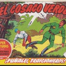 Tebeos: EL COSACO VERDE ·· SUPER AVENTURAS·· Nº 417 ··· PUÑALES TRAICIONEROS. Lote 53302578