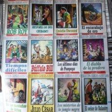 Tebeos: 12 TEBEOS DE LA COLECCION GRANDES AVENTURAS. PUBLICADOS POR EL PERIODICO. Lote 54029414