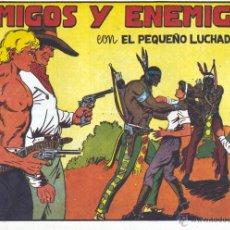 Tebeos: EL PEQUEÑO LUCHADOR Nº17. DIBUJOS DE MANUEL GAGO, AUTOR DE EL GUERRERO DEL ANTIFAZ. REEDICIÓN7. Lote 54520920