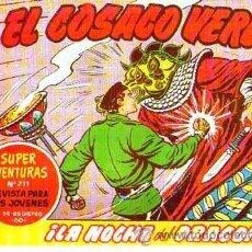 Tebeos: FACSIMIL EL COSACO VERDE Nº 144 ULTIMO. Lote 54767000