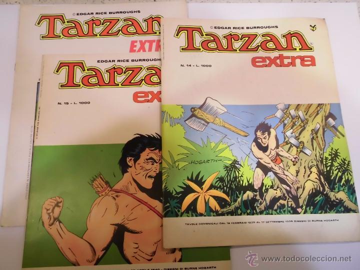 TARZAN EXTRA - 15 COMICS COMPLETA - EN ITALIANO - CENISSIO - 1977 (Tebeos y Comics - Tebeos Reediciones)