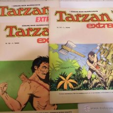 Tebeos: TARZAN EXTRA - 15 COMICS COMPLETA - EN ITALIANO - CENISSIO - 1977. Lote 55078516