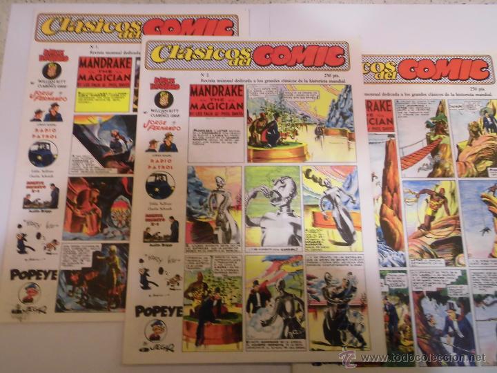 REVISTA CLASICOS DEL COMIC - 13 COMICS COMPLETA - ED COMPLOT - 1988 (Tebeos y Comics - Tebeos Reediciones)