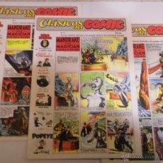 Tebeos: REVISTA CLASICOS DEL COMIC - 13 COMICS COMPLETA - ED COMPLOT - 1988. Lote 55078719