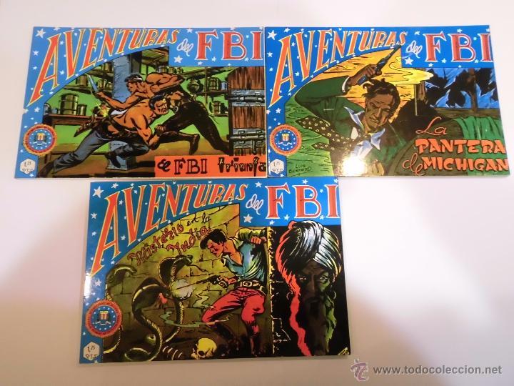 AVENTURAS DEL F.B.I. - 6 COMICS COMPLETA - EDICIONES B.O. - 1981 (Tebeos y Comics - Tebeos Reediciones)