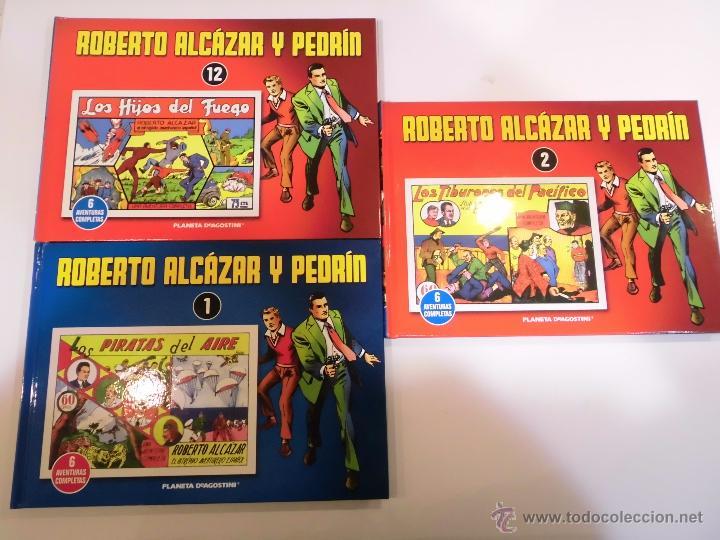 LOTE 26 COMICS TAPADURA ROBERTO ALZAZAR Y PEDRIN - VAÑO - PLANETA - 2010 (Tebeos y Comics - Tebeos Reediciones)