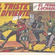Tebeos: PEQUEÑO LUCHADOR 167. DE GAGO, AUTOR DE EL ESPADACHÍN ENMASCARADO, EL GUERRERO DEL ANTIFAZ, PURK. . Lote 55715941