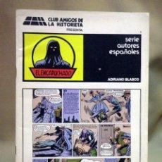 Tebeos: TEBEO O COMIC, EL ENCAPUCHADO, CLUB AMIGOS DE LA HISTORIETA. Lote 55858990