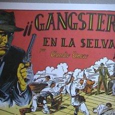 Tebeos: GANGSTERS EN LA SELVA. REEDICION.. Lote 55880873