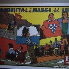 Tebeos: LA CONQUISTA DE LOS MARES DEL SUR. REEDICION.. Lote 55881015