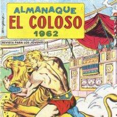 Livros de Banda Desenhada: ALMANAQUE EL COLOSO 1962 - IMPECABLE. Lote 174357287
