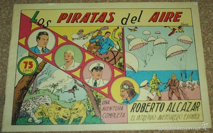 Tebeos: ROBERTO ALCAZAR Nº 1 LOTE DE 3 TEBEOS - Nº 1 EXTRA - Nº 1 EDIC 1981 - Nº 1 REEDICION DE COMIC MAN - Foto 3 - 56109003
