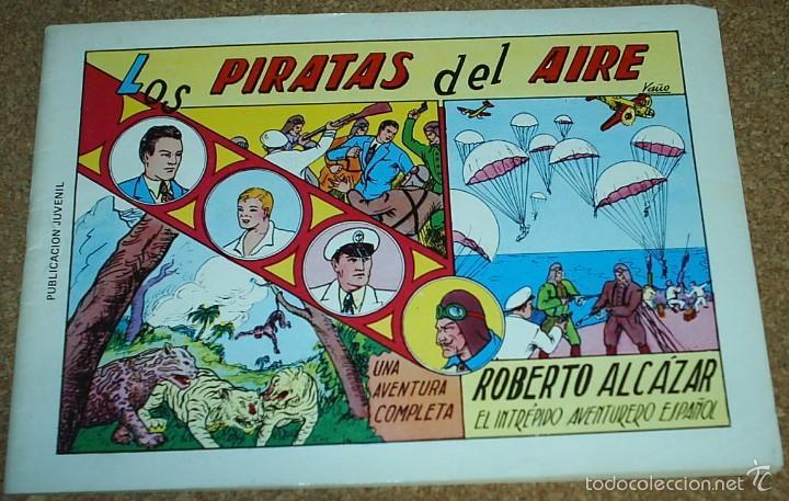 Tebeos: ROBERTO ALCAZAR Nº 1 LOTE DE 3 TEBEOS - Nº 1 EXTRA - Nº 1 EDIC 1981 - Nº 1 REEDICION DE COMIC MAN - Foto 4 - 56109003