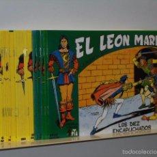 Tebeos: EL LEON MARINO COMPLETA 24 NUMS. REEDICION LH. Lote 152513044