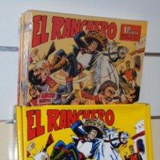 Tebeos: EL RANCHERO COMPLETA 32 NUMS. REEDICION. Lote 194380180