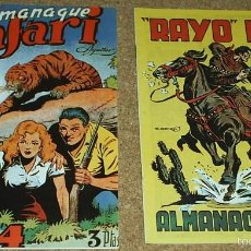 Tebeos: ALMANAQUES RAYO KIT 1950 Y SAFARI 1954.- - REEDICION DE LOS 80 EN PERFECTO ESTADO. Lote 58392713