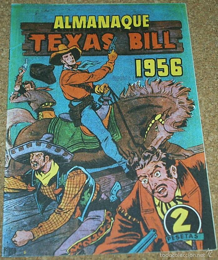 Tebeos: ALMANAQUES BILL CODY 1952 Y TEXAS BILL 1956- - REEDICION DE LOS 80 EN PERFECTO ESTADO-LEER TODO - Foto 3 - 58392742