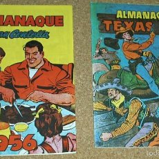 Tebeos: ALMANAQUES TEXAS BILL 1956 Y JUAN CENTELLA 1956 - REEDICIONES -PERFECTO ESTADO IMPORTANTE LEER ENVIO. Lote 58392843