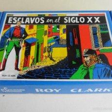 Tebeos: ROY CLARK. ESCLAVOS EN EL SIGLO XX. COLECCION COMANDOS. CAJA CON 26 CUADERNILLOS. 760 GRAMOS.. Lote 59947249