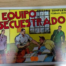 Tebeos: JUAN CENTELLA EL EQUIPO SECUESTRADO EDICION 1988. Lote 58697280