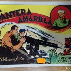 Tebeos: JUAN CENTELLA LA PANTERA AMARILLA EDICION 1988. Lote 58697482
