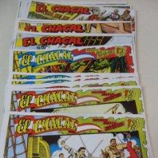 Tebeos: EL CHACAL. LOTE DE 20 CUADERNILLOS. COMPLETA. 450 GRAMOS.. Lote 59979089