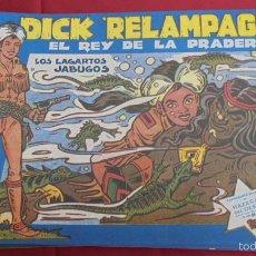 Tebeos: DICK RELAMPAGO. COLECCION COMPLETA. 28 EJEMPLARES. G. IRANZO. FACSIMIL. NUEVOS.. Lote 58943565