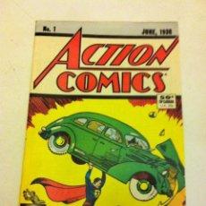 Tebeos: SUPERMAN (ACTION COMICS Nº. 1) - REEDICIÓN 50 AÑOS USA, EN INGLÉS 1988. Lote 81899214