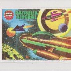 Tebeos: EL MUNDO FUTURO - Nº 61 - PATRULLA SIDERAL / REEDICION - FACSIMIL. Lote 60607875